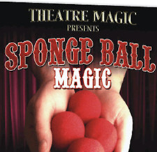 Sponge Ball Magic (DVD and Gimmick) by Theatre Magic from Murphy's Magic