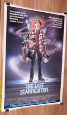 THE LAST STAR FIGHTER 1sh movie poster LANCE GUEST