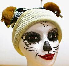 "New!  MsMeowtaKittyclaws's art  ""Unisex Pirate Bear Beanie Hat"""