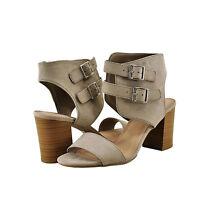 Women Shoe Delicious Surrell S Open Toe Gladiator Double Buckle Heel Clay *New*