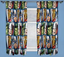 "Marvel avengers shield rideaux 66""x54"" 167x137cm capt america hulk ironman thor"