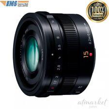 Panasonic LUMIX G LEICA DG SUMMILUX 15mm / F1.7 ASPH. H-X015 -K (Black) JAPAN