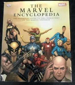 The Marvel Encyclopedia Hardcover HC Definitive Guide to the Marvel Characters