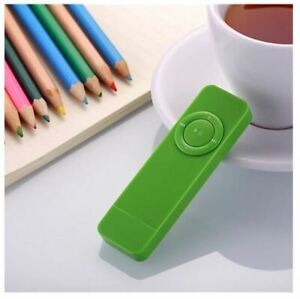 Portable Mini MP3 Player LCD Screen Support
