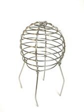 """Gutter Down pipe leaf guard wire balloon 75mm (3"""") Stainless Steel"""