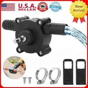 Portable Electric Powered Drill Pump Self Priming Oil Fluid Water Transfer Pumps
