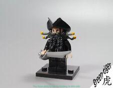 B556 Blackbeard minifigure Pirate of the Caribbean Fountain Youth lego custom