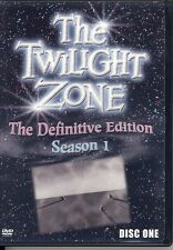 The Twilight Zone - Definitive Edition - Seasons 1-5  Complete on 27 DVD's