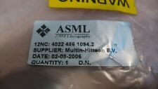 ASML 4022.456.1094 Wafer Heater Assembly With ASML 4022.456.1144