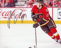 """~~ JOHNNY GAUDREAU Authentic Hand-Signed """"Calgary Flames"""" 8x10 Photo ~~"""