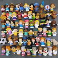 LOT Fisher Price Little People Mia Grandparent Worker Artist Bear Figure Toys
