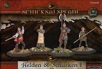 SCHICKSALSPFADE-Miniaturenbox: Helden & Schurken Aventuriens I-DSA-neu #US60009