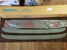 FRONT / REAR BUMPER PLATE 1973 Honda Civic 1200 EB1 NEW OLD STOCK! Vintage RARE!