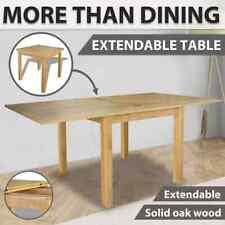 Extendable Table Oak 170x85x75 Cm vidaXL