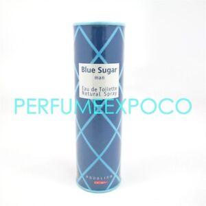 BLUE SUGAR by Aqualina MEN Cologne 50ml-1.7oz EDT SPR Vintage Discontinued (HE11