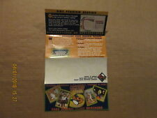Frontier League Gateway Grizzlies Vintage 2005 Baseball Season Ticket Brochure