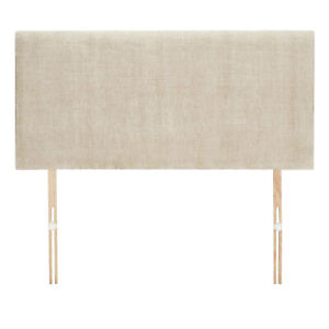 New Cream Fabric Headboard - Available in 20 or 24 inch Height 3FT 4FT 4FT6 5FT