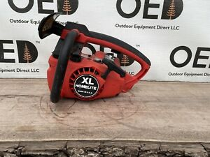 HOMELITE XL Chainsaw Powerhead - PROJECT / Parts Saw READ - SHIPS FAST