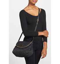 NWT Marc by Marc Jacobs Crosby Quilted Nylon Natasha Crossbody Bag  BLACK