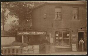LOUGHTON, ESSEX postcard Loughton Tea Gardens