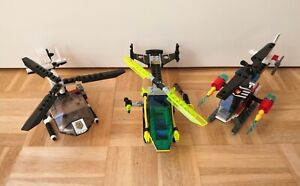 Lego Helicopter job lot sets 6773 Alpha Team 7238 City Fire 7031 World Police