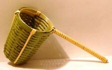 Tea strainer 6x8cm 10cm long Handle Bamboo Guaranteed quality 1012