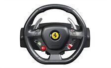 Xbox 360 Steering Wheel Racing Gaming Simulator Ferrari 458 Pedal Set Driving PC