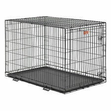 "Midwest SL54DD 'Ginormus' Double Door Dog Crate + Pan (Size: 54""L x 37""W x 45""H)"