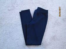 Womens Ann Taylor LOFT Modern Skinny Navy Ponte Pants 0