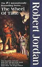 The Wheel of Time, Boxed Set I, Books 1-3: The Eye of the World, the Great Hunt, the Dragon Reborn by Professor of Theatre Studies and Head of the School of Theatre Studies Robert Jordan (Multiple copy pack, 1993)