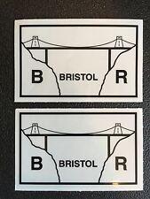 Depot Shed Sticker X2 Bristol BRITISH RAIL CLASS 47 67 RES