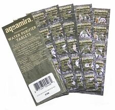 50pk Aquamira Military Issue Water Purification Tablets