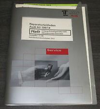 Werkstatthandbuch Audi A3 Typ 8L Quattro Getriebe 5  Gang Schaltung ab 1997
