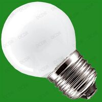 6x 40W OPAL ROUND DIMMABLE GOLF INCANDESCENT ROUGH SERVICE LIGHT BULBS, ES, E27