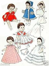 "8351 Vintage Doll Wardrobe Clothing Pattern for Ginette Ginger 8"""