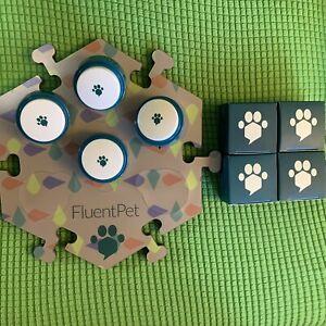Fluentpet 1 Hextlie 4 Buttons Fluent Pet Cat Dog Toy Teach Learning