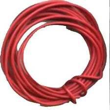 10 Ft. 24 Gauge Red Wire for HO Gauge Scale TRAINS Strandard