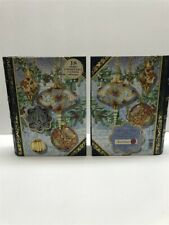 2 Punch Studio Christmas Greeting Cards in Keepsake Box (18 Notes Cards) 59430