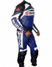 GSXR SUZUKI MOTORCYCLE LEATHER SUIT MEN MOTO GP MOTORBIKE LEATHER JACKET TROUSER