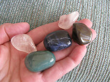 """NEW """"STRESS RELIEF & CALMING"""" NATURAL CRYSTAL HEALING STONE SET OF 5 GEMSTONES"""