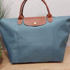 Longchamp Le Pliage modele depose M petrol/ blau neuwertig