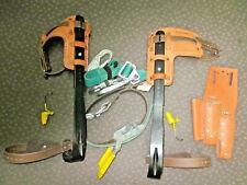 Buckingham 483D Bucksqueeze Lineman Utility Pole Climb Fall Protection W Spikes