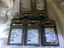 "HP 146GB 15K 3.5"" 80Pin ULTRA 320 SCSI HDD 512751-015 443188-002 356914-001"