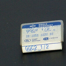 GGC2 1/2 Shawmut 2 1/2 amp 250 volt fast acting fuse(lot of 10)
