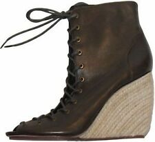 Women's Leather Lace Ups Heels