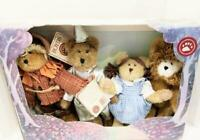 WIZARD OF OZ  Boyds Bears Retired  4 Piece Set # 567933  Collectors