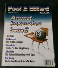 Pool & Billiard Magazine August 1997 Annual Instructions Issue 8 ball