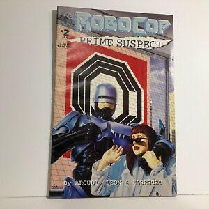 Robocop Prime Suspect #2 (Dark Horse 1992) Free Domestic Shipping
