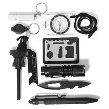 SOS Survival Ausrüstung selbst Hilfe Außen Zelten Reise Wandern Werkzeugbox Set