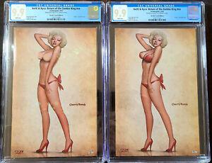 Notti & Nyce Return Of The Zombie King Marilyn Crystal Set CGC 9.9 Ltd /20